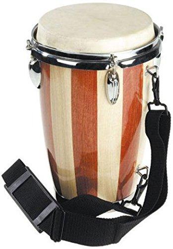 bel-O-ton Kleine Einzel-Conga, kräftiges, hohes Klangbild, mit Trageriemen - Musik-Instrumente, Musikunterricht, Percussion, Trommeln, Musikschule, Orchester