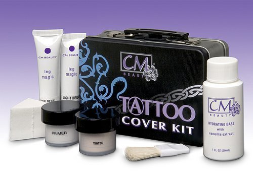 Tattoo Cover Kit Med/Dark by CM Beauty