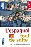 Coffret L'espagnol tout de suite ! (livre + 1 CD) de Collectif (31 janvier 2007) Poche
