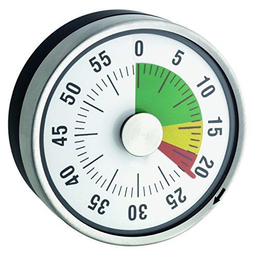 TimeTex Compact Zeitdauer-Uhr mit Magnet und Ampelscheibe (Wecker Gelb, Grün, Rot,)