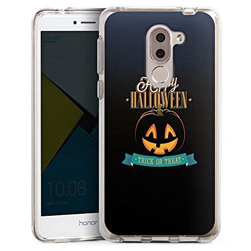 DeinDesign Huawei Honor 6X Bumper Hülle Bumper Case Schutzhülle Halloween Kürbis Trick Or Treat
