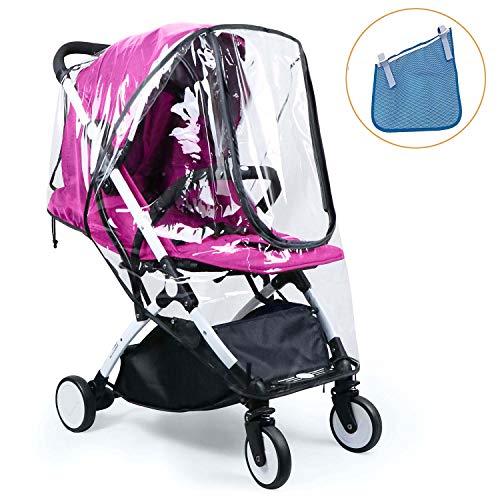 4047702a9 HULISEN Bebé Cochecito Cubierta Universal Para Lluvia Impermeable, Polvo  Viento Shield Cochecito Accesorios