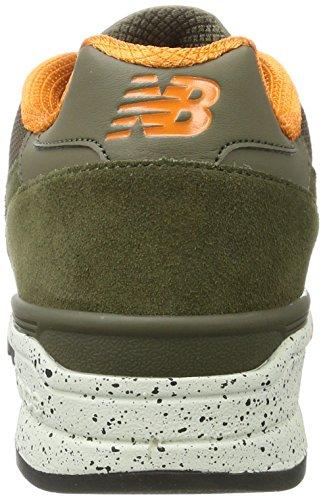 New Balance 597, Running Homme Vert (Covert Green)