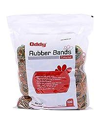 Oddy Colored Maximum Stretch Rubber Bands 1 1/2