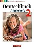 Deutschbuch Gymnasium - Baden-Württemberg - Bildungsplan 2016: Band 2: 6. Schuljahr - Arbeitsheft mit Lösungen - Dr. Margret Fingerhut