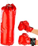 Playtastic Box-Set für Kinder: Sandsack & Box-Handschuhe