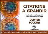 Telecharger Livres Citations a grandir (PDF,EPUB,MOBI) gratuits en Francaise