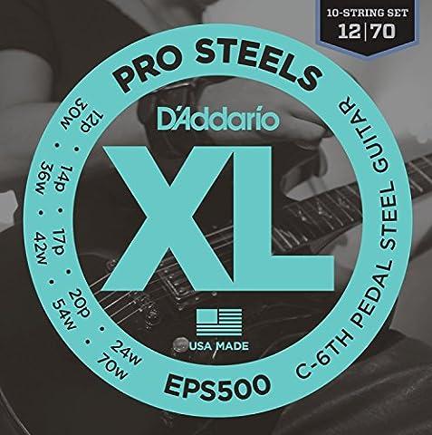 D'Addario EPS500 C-6th Pedal Steel Strings