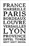 Damdekoli France Poster, 27,9x 43,2cm, Lyon Paris