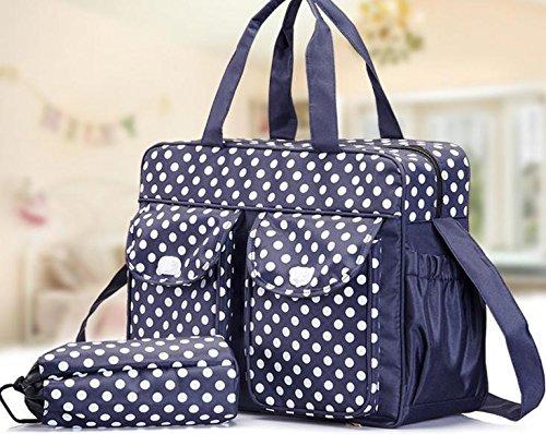 ZYT Mumie Tasche Multifunktion große Kapazität Mutter Diagonale Welle der mütterlichen und Kind e