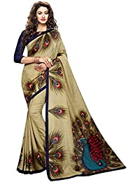 abbe95fe40532 Amazon.in  Sarees - Ethnic Wear  Clothing   Accessories