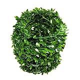 22,5 Meter Buchsgirlande Künstlichen Efeu Laub Grün Blätter Fake Rebe dancepandas