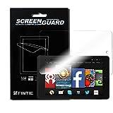 3 x Fintie Ultra Klar Schutzfolie für Fire HD 7 (4. Generation 2014 Release) - High Definition Displayschutzfolie Screen Protector (3 Stück Kristallklar)