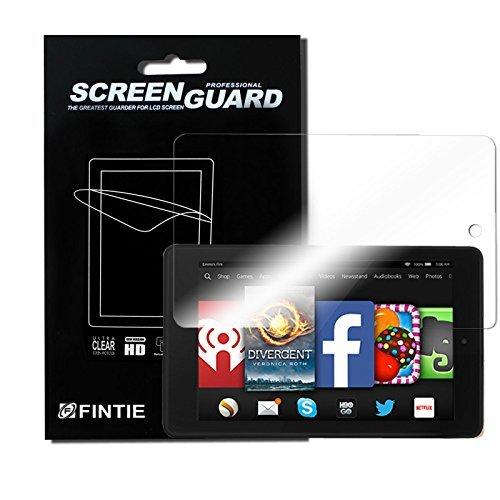 Entfernen Kindle Sie Inhalte Von (3 x Fintie Ultra Klar Schutzfolie für Fire HD 7 (4. Generation 2014 Release) - High Definition Displayschutzfolie Screen Protector (3 Stück Kristallklar))