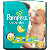 Pampers Baby De Taille Sec Maxi 4 + Ainsi 9-20Kg (24)