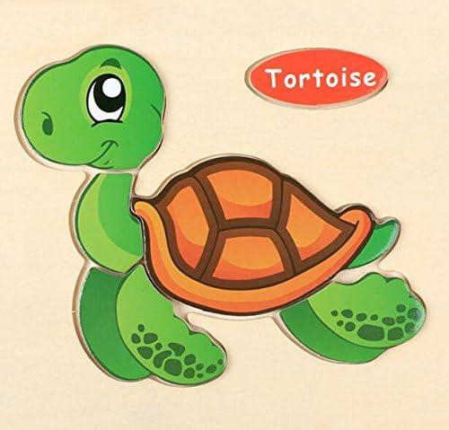 Un article parfait parfait parfait Conseil cognitif en forme de tortue en bois préscolaire belle pour le puzzle éducatif d'enfants | Divers Les Types Et Les Styles  f5c0ad