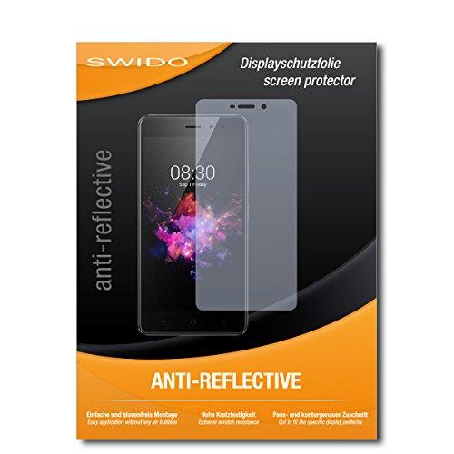 SWIDO Schutzfolie für TP-Link Neffos X1 Lite [2 Stück] Anti-Reflex MATT Entspiegelnd, Hoher Härtegrad, Schutz vor Kratzer/Bildschirmschutz, Bildschirmschutzfolie, Panzerglas-Folie