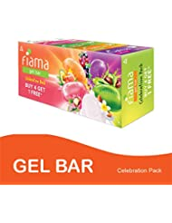Fiama Di Wills Gel Bar, 125g (Pack of 4)  with 1 Multi-Variant