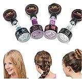 vyage (TM) 4/Set New Haar glitzernden Briefmarken Peace & Blumen Frauen Hair Glitter Girl Hair Styling Farben versandkostenfrei