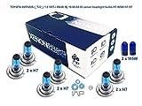 Effet xénon de voiture ampoules de phare H7W5W H7H7, 8-pack