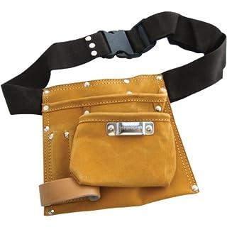 Am-Tech 6 Pocket Leather Tool Belt, N0850