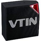 Altavoz bluetooth impermeable de IP67, Vtin Cuber Altavoz bluetooth 4.0 de 5W, con micrófono de Incorporado impermeable Para Ducha / Hogar / exterior, color Negro