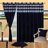 Homesazz Modern Polyester Door Curtain- ...