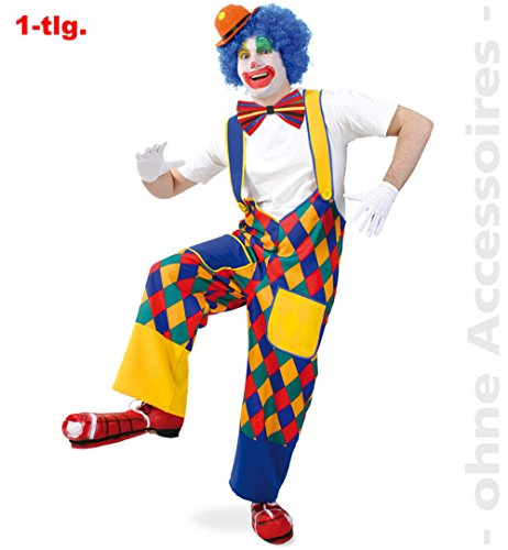 Clown Jeder Kostüm - Clown Chico Hose Gr. M - XXL