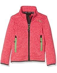 CMP 3H19925 - Chaqueta para niñas, color Rosa (Ibisco-Rose), 8 años (talla del fabricante: 128 cm)