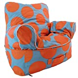 Bieco 04006109 - Kinder Armlehnen Sitzsack, ca. 48 x 55 x 53 cm