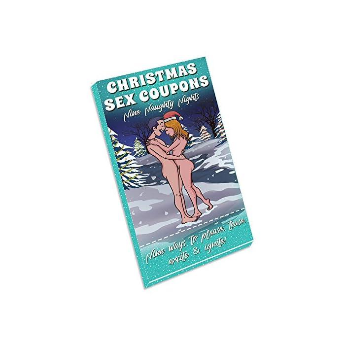 9 weihnachtliche Sex Gutscheine für Paare – Coupons als Geschenkidee & Gutscheinidee mit verschiedenen Stellungen - Liebesgutscheine & Sexgutscheine ideal für Weihnachten oder Valentinstag 1