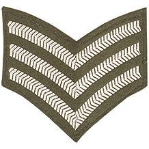 Sergent Militaire Armée rayures Patch Badge (struts-7788)