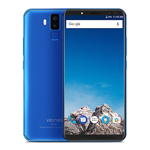 Vernee X 4G phablet 5,99pulgadas Android 7,1mtk67632,0GHz Okta Núcleo 6GB de RAM + 128GB ROM 6200mAh batería, Dual vorkamera + Dual Cámara principal