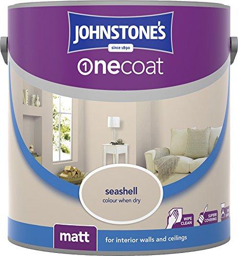 Johnstone's 304118One Coat Emulsionsfarbe, matt,Farbton Rosebud, 304119 -