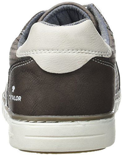 Tom Tailor 2782102, Baskets Basses Homme Marron (lava)