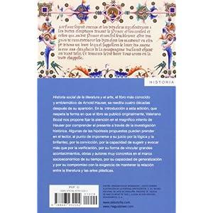 Historia Social De La Literatura Y El Arte - Volumen 1 (ENSAYO-ARTE)
