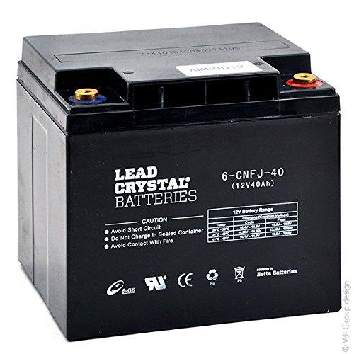Lead Crystal - Akku Bleikristall 6-CNFJ-40 12V 40Ah M6-F -