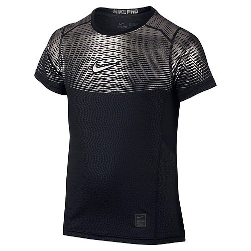 Nike Hypercool Max YTH SS-Shirt Fitness et d'exercice pour Enfant