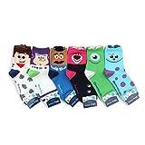 Intype Disney lizenzierte Socken Sammlung (EU 36-38.5) beutel (Crew-Churros(oa) 6Paare)
