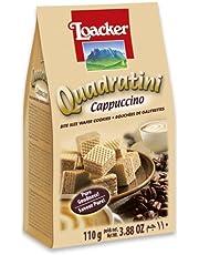Loacker Quadratini Cappuccino Wafer, 110g