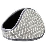 XXYsm Unisex Ohrenschützer Winter Plüsch Ohrenwärmer Warm Winddicht Hinten tragen Earmuffs Einfarbig Ear Cover B
