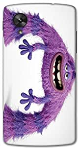 Timpax protective Armor Hard Bumper Back Case Cover. Multicolor printed on 3 Dimensional case with latest & finest graphic design art. Compatible with Google Nexus-5 Design No : TDZ-27433