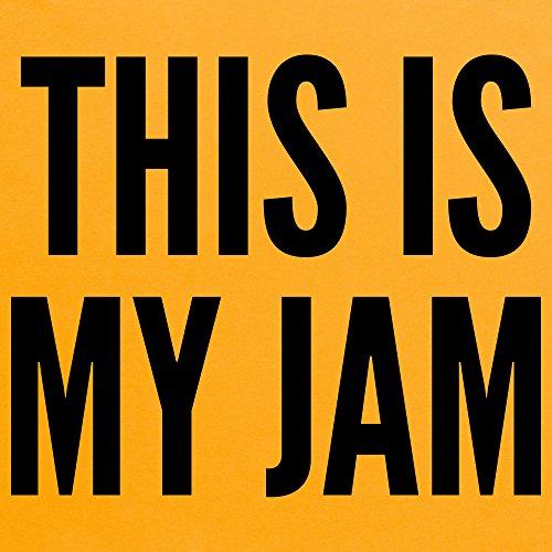 This Is My Jam T-Shirt, Herren Gelb