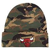 New Era Wintermütze Knit Beanie - Chicago Bulls Wood Camo