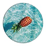 NiJJA Floating Pineapple Expanding Stand Pop Grip Mount Holder Sockets for iPhone,Samsung Galaxy,all Cellphones and Tablets