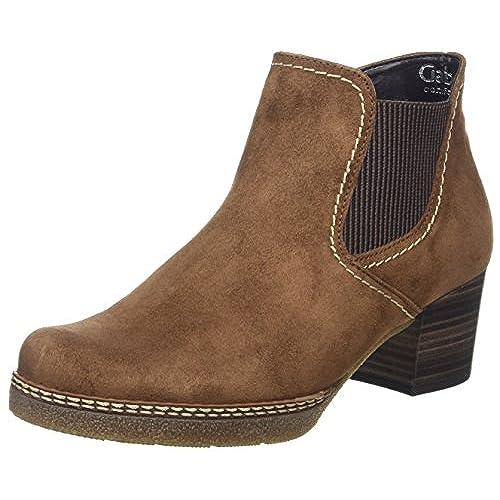 Gabor Damen Comfort Basic Stiefel  38.5 EUBraun (34 Nut (Sn/Alma/Mi))