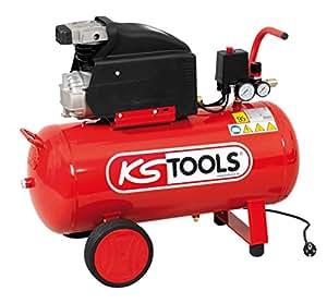 KS Tools 165.0403 Compresseur sur cuve 50 L 8 bars 2 cv 230 V