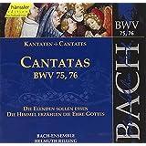 Edition Bachakademie Vol. 24 (Geistliche Kantaten BWV 75-76)