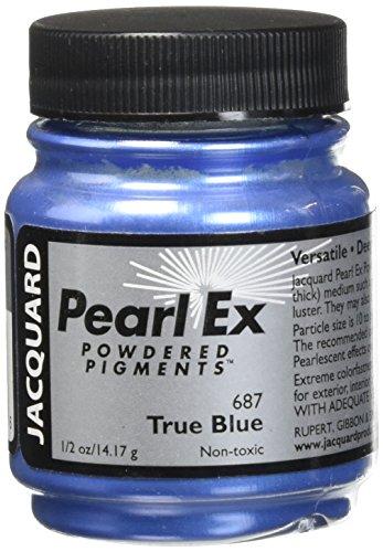 Jacquard Pearl Ex Pulver-Pigment True Blue, 0,5 oz