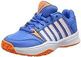 K-Swiss Performance Unisex-Kinder Court Smash Omni Tennisschuhe, Blau (Brilliant Blue/Neon Orange/White 428M), 28 EU